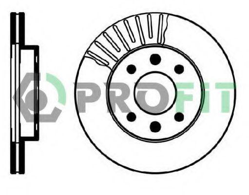 Диск тормозной PROFIT 50100158