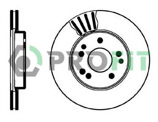 Диск тормозной PROFIT 50100181