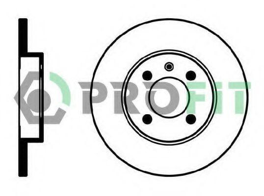 Диск тормозной PROFIT 50100205