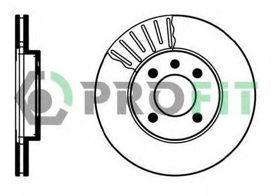 Диск тормозной PROFIT 50100207
