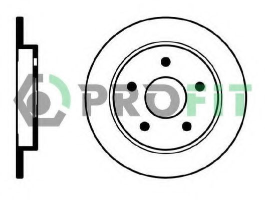 Диск тормозной PROFIT 50100232