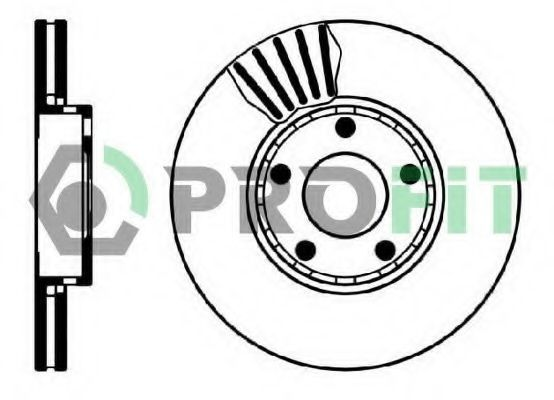Диск тормозной PROFIT 50100320