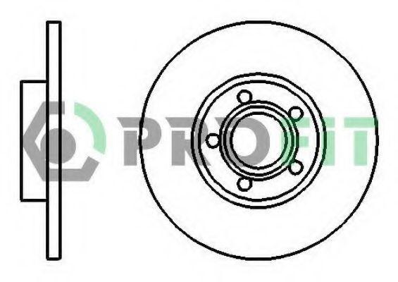 Диск тормозной PROFIT 50100324