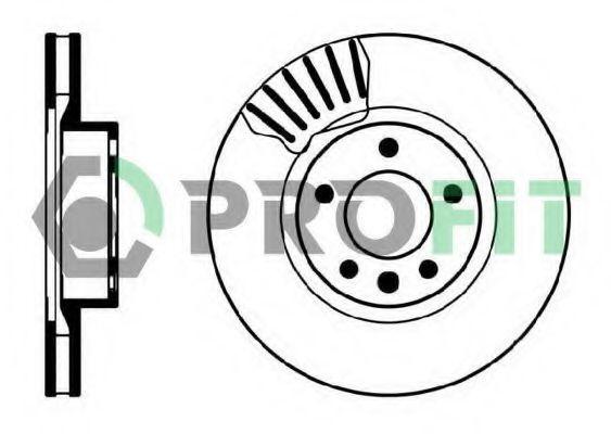 Диск тормозной PROFIT 50100330
