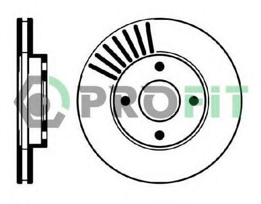 Диск тормозной PROFIT 50100364