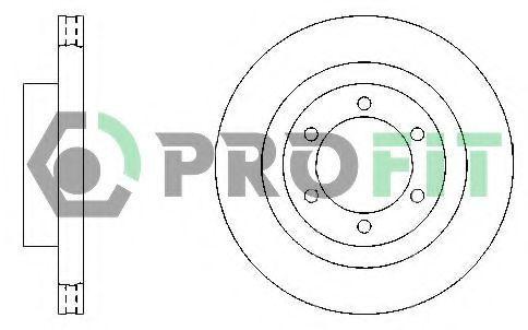 Диск тормозной PROFIT 50100444