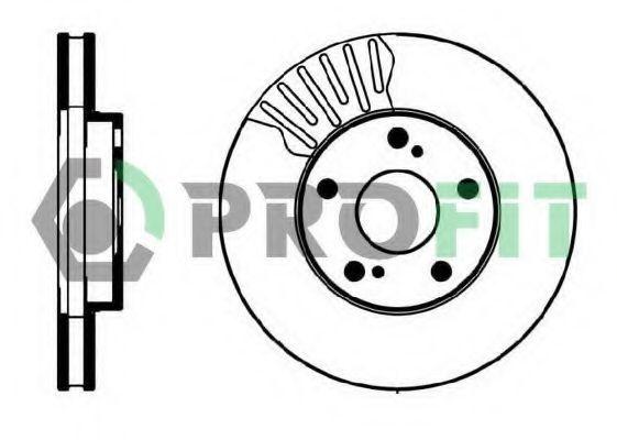 Диск тормозной PROFIT 50100501