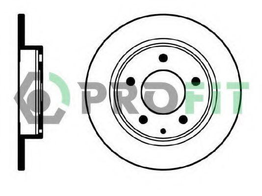 Диск тормозной PROFIT 50100524