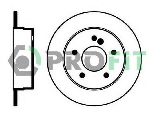 Диск тормозной PROFIT 50100539