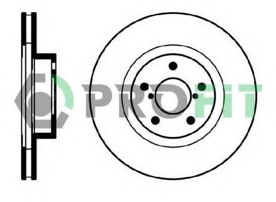 Диск тормозной PROFIT 50100679