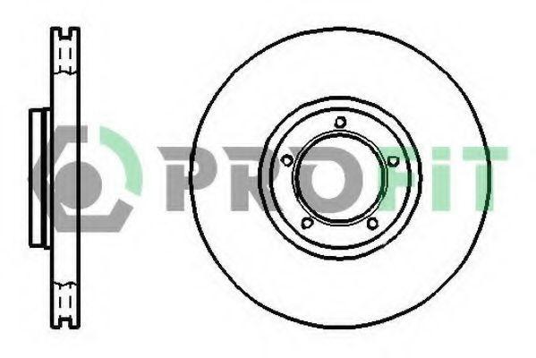 Диск тормозной PROFIT 50100849