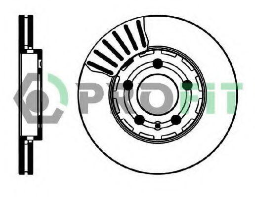Диск тормозной PROFIT 50100927
