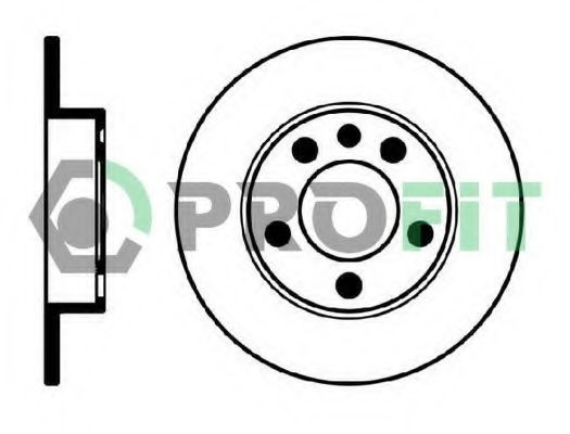Диск тормозной PROFIT 5010-0929
