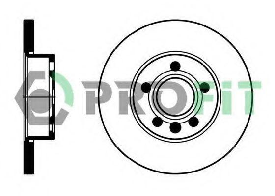 Диск тормозной PROFIT 5010-1011