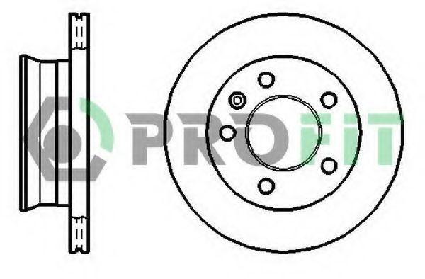 Диск тормозной PROFIT 50101013