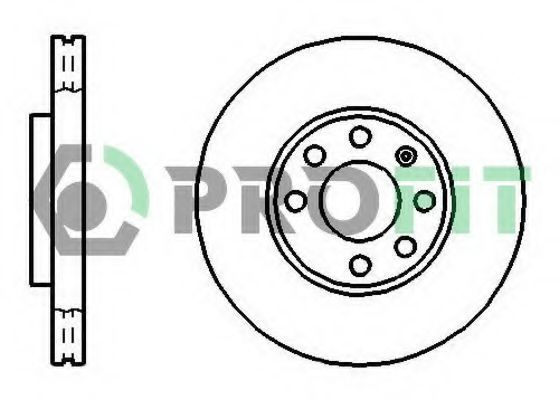 Диск тормозной PROFIT 50101041