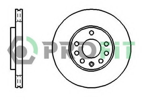 Диск тормозной PROFIT 50101042