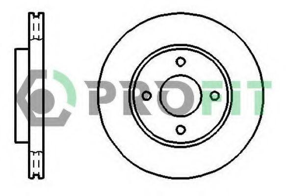 Диск тормозной PROFIT 50101072