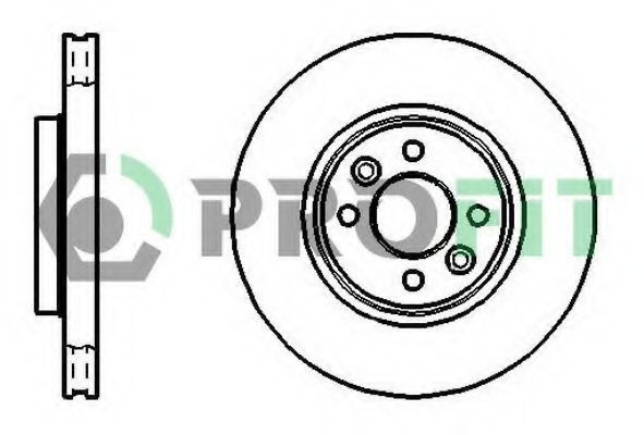 Диск тормозной PROFIT 50101124