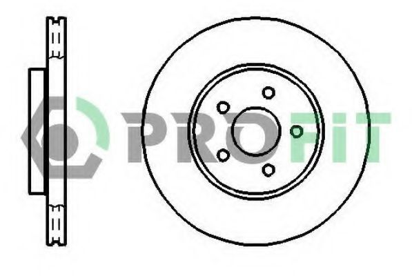 Диск тормозной PROFIT 50101125