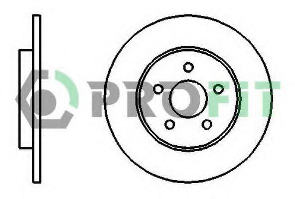 Диск тормозной PROFIT 50101126