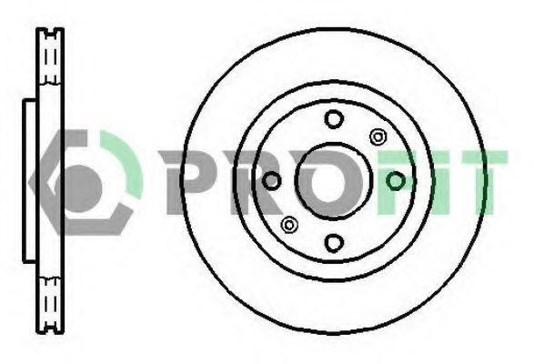 Диск тормозной PROFIT 50101140