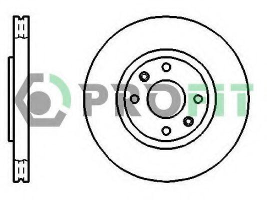 Диск тормозной PROFIT 50101152