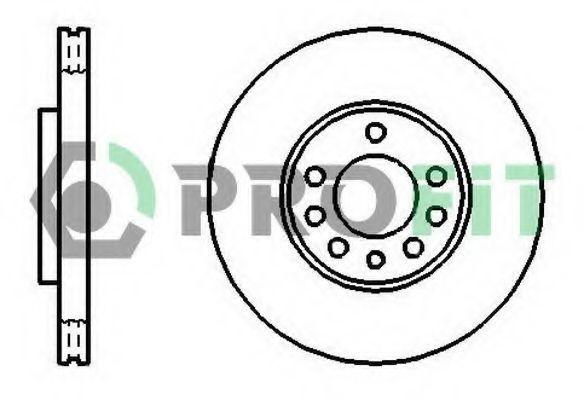 Диск тормозной PROFIT 50101191