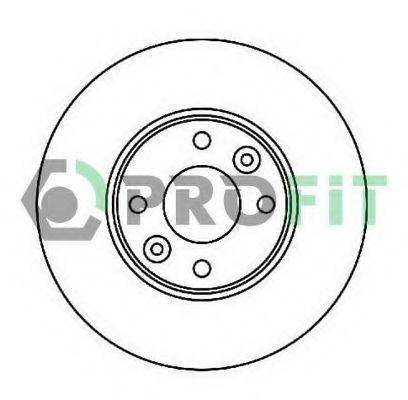 Диск тормозной PROFIT 50101201