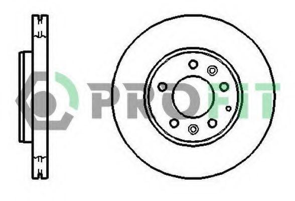 Диск тормозной PROFIT 50101210