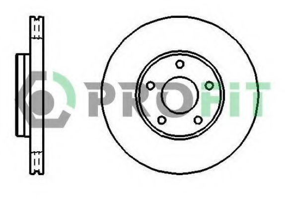 Диск тормозной PROFIT 50101222