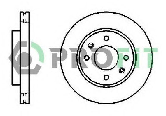 Диск тормозной PROFIT 50101270