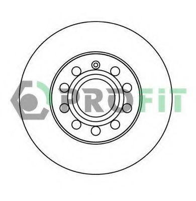 Диск тормозной PROFIT 50101276