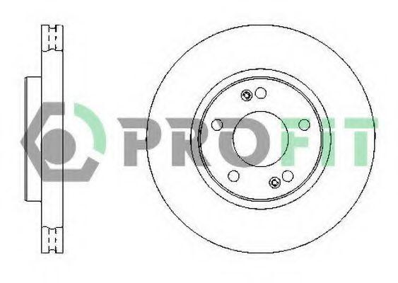 Диск тормозной PROFIT 50101300