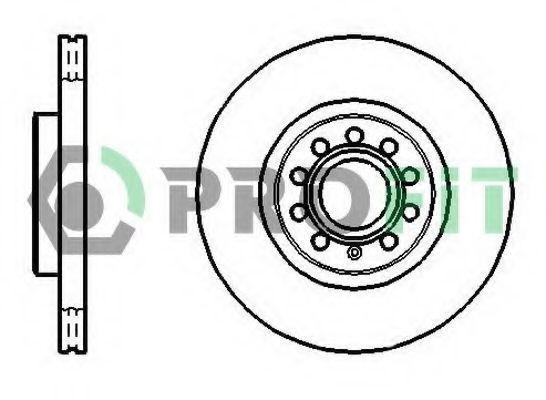Диск тормозной PROFIT 50101305
