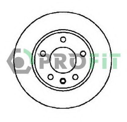 Диск тормозной PROFIT 50101311