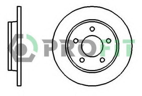 Диск тормозной PROFIT 50101420