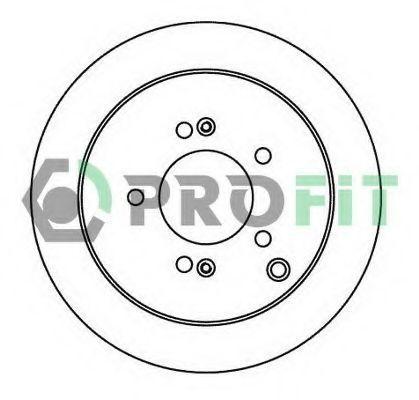 Диск тормозной PROFIT 50101493