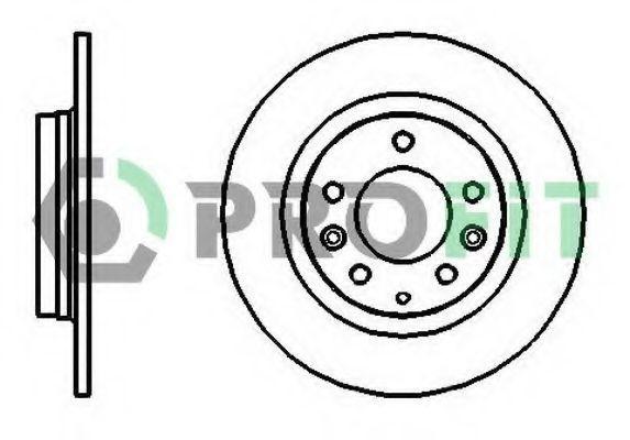 Диск тормозной PROFIT 50101500
