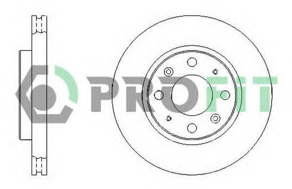 Диск тормозной PROFIT 50101528