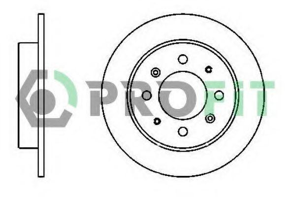 Диск тормозной PROFIT 5010-1541