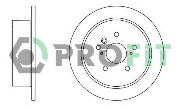 Диск тормозной PROFIT 50101545