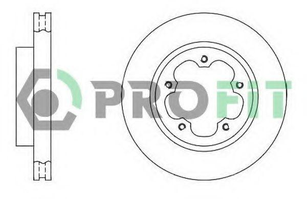 Диск тормозной PROFIT 50101554