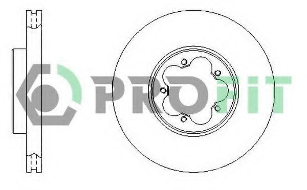 Диск тормозной PROFIT 50101555