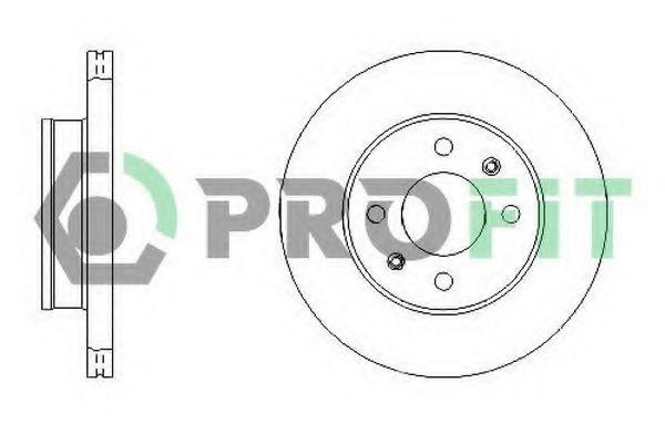Диск тормозной PROFIT 50101632