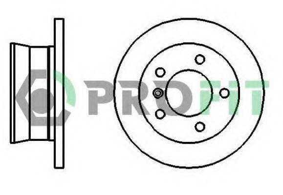 Диск тормозной PROFIT 50102001