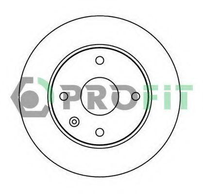 Диск тормозной PROFIT 50102003