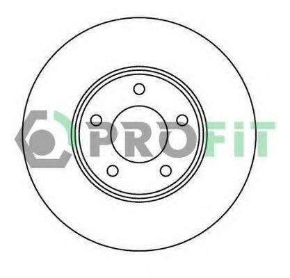 Диск тормозной PROFIT 50102007