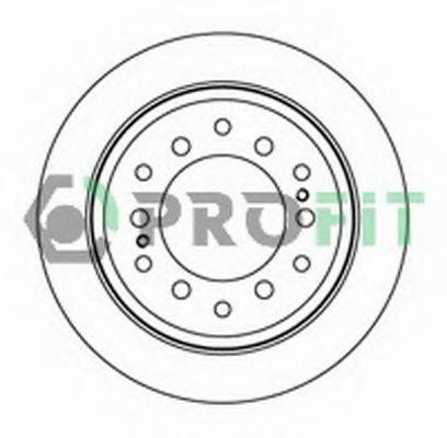 Диск тормозной PROFIT 50102015