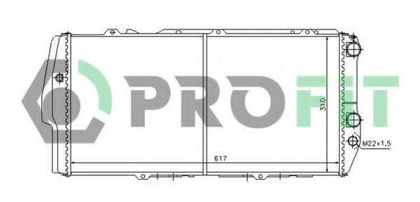 Радиатор охлаждения PROFIT PR0011A1